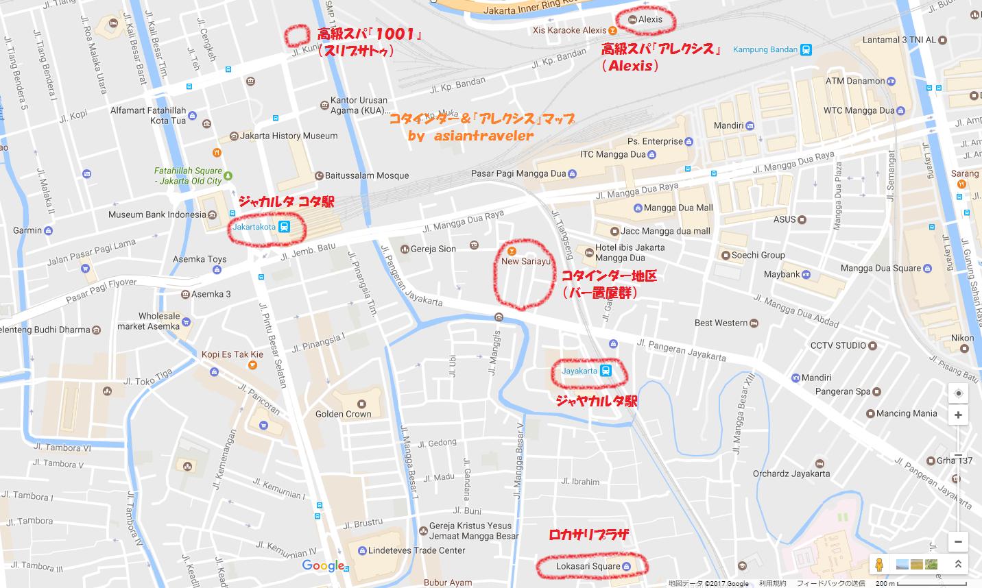 Jakarta Kota Map