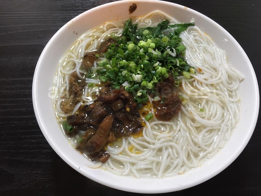 中国河口の食堂