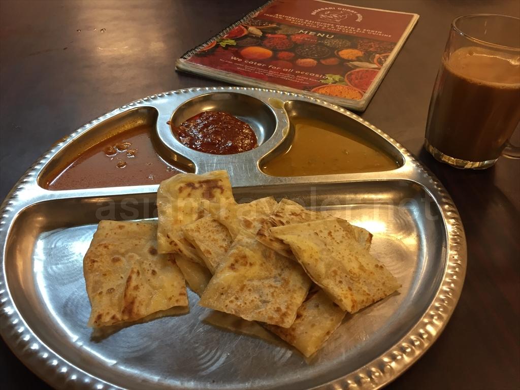 マレーシアの朝食