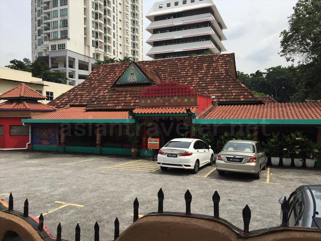 インド料理店「Passage Thru India」の外観