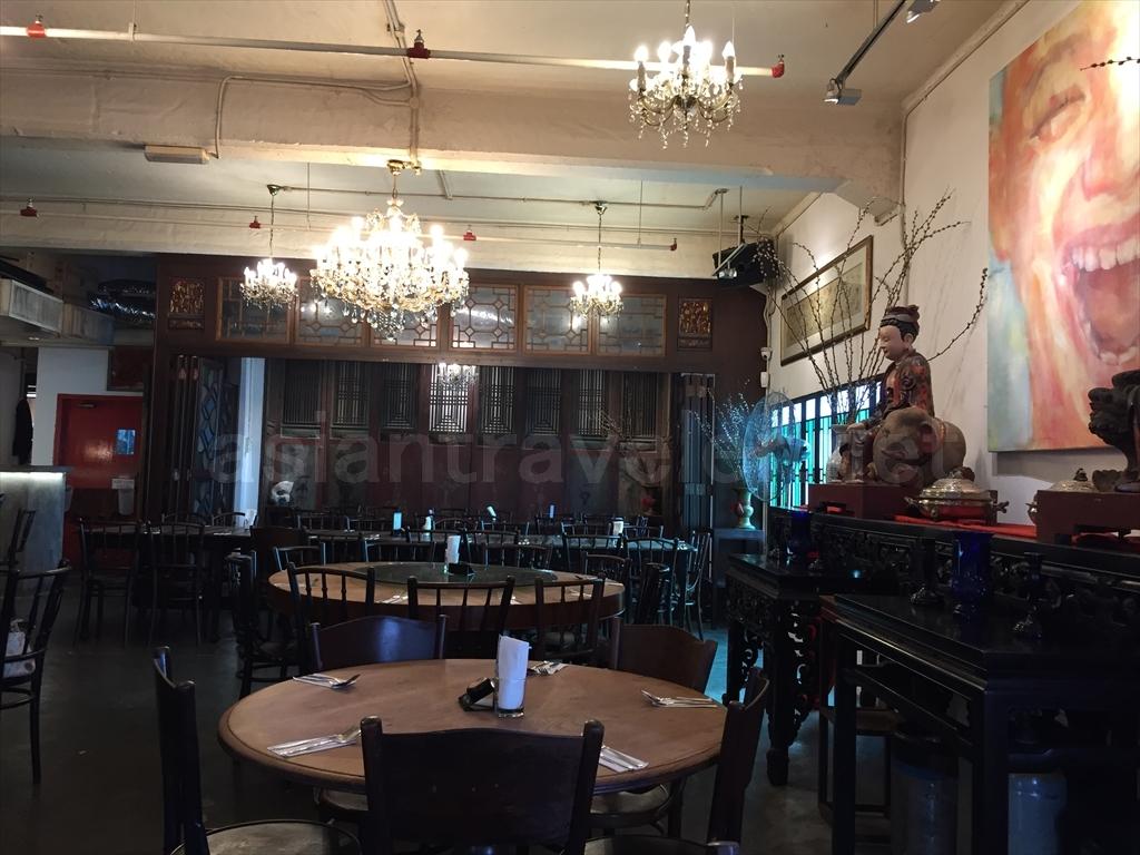 マレーシア料理店「Preciou Old China」の店内