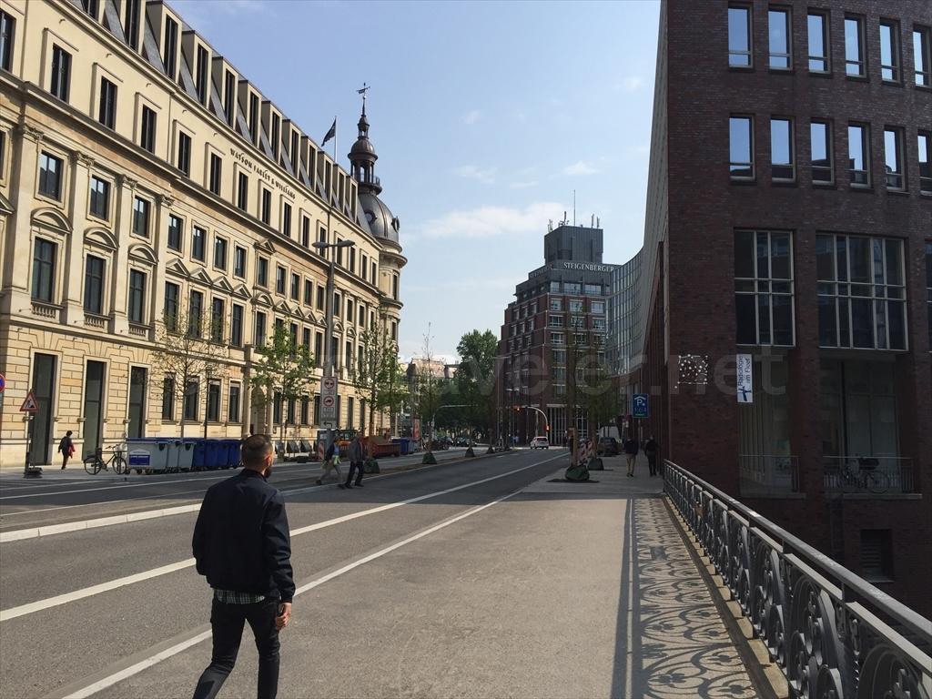 ハンブルクの街並み