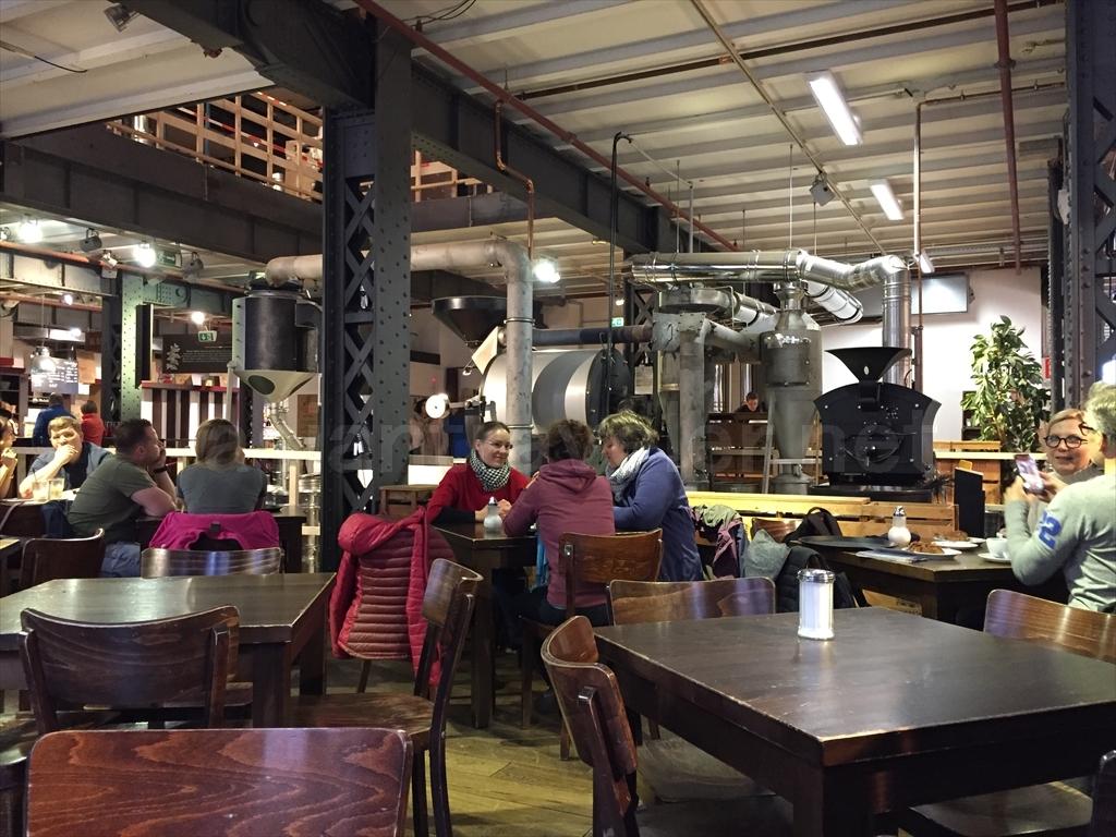 ハンブルクのカフェ「Speicherstadt Kaffeerösterei」