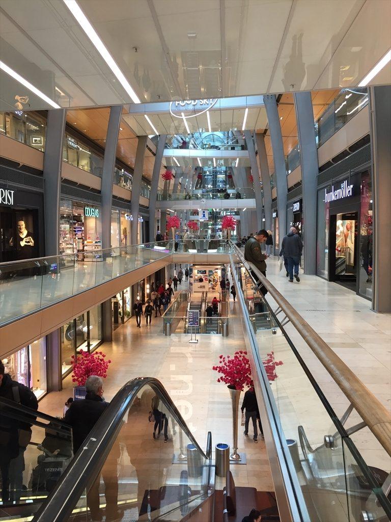 ハンブルクのショッピングモール