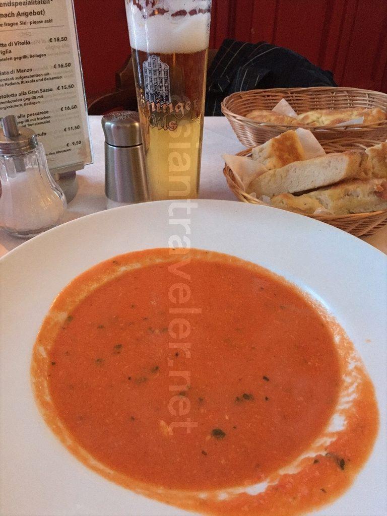 ハンブルクのイタリアンレストラン