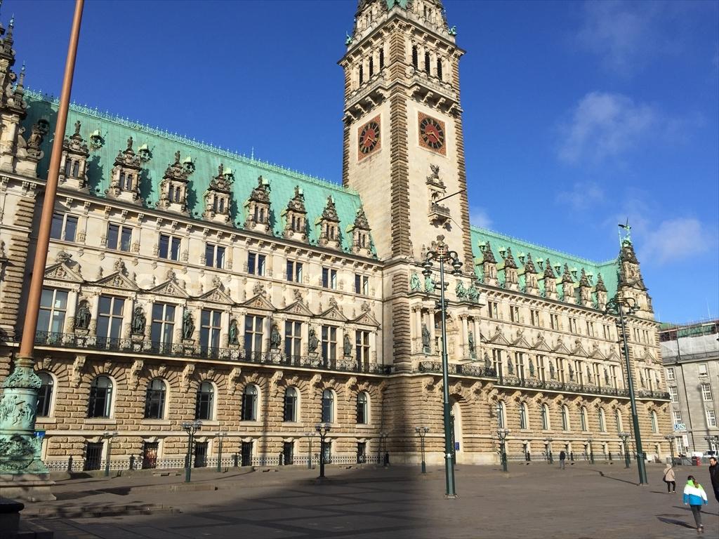 ハンブルクの市庁舎